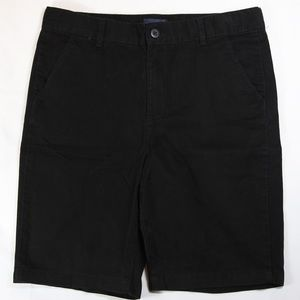 5/$15 Childrens Place Boys Black School Shorts 14H